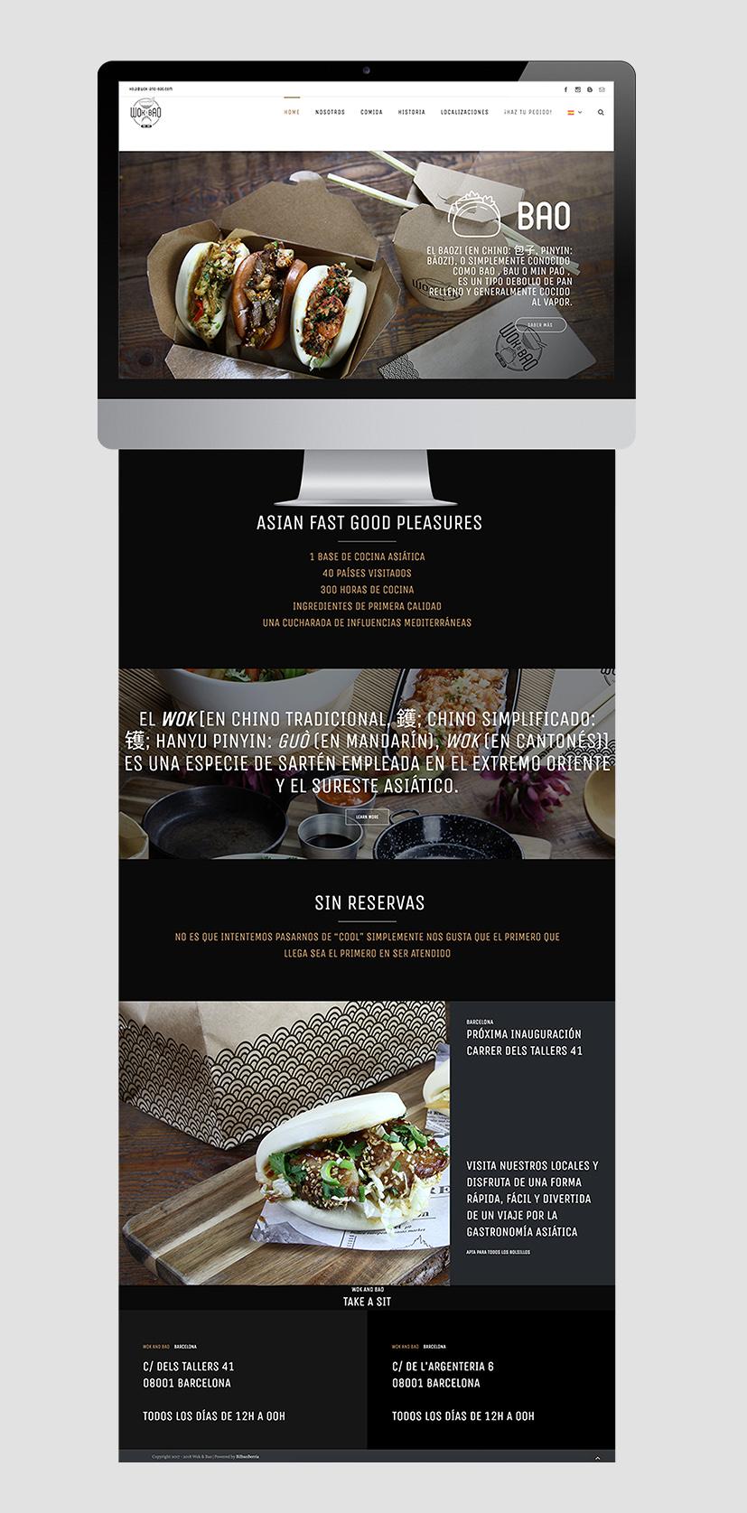 Proyecto Wok & Bao WordPress 5