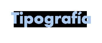Futura tipografia ejemplo