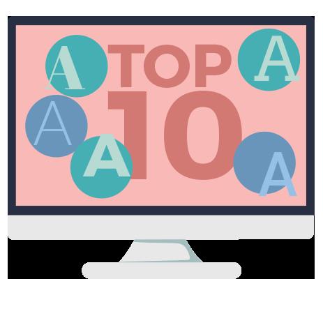 Top 10 Tipografias